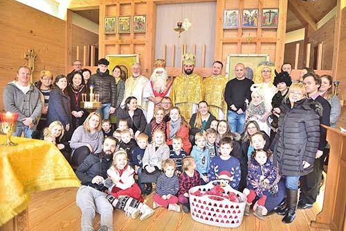 V Anglicku oslávili sv. Mikuláša