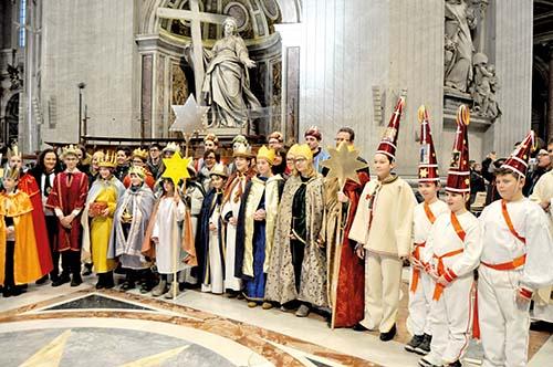 Koledníci z Jakubian koledovali vo Vatikáne