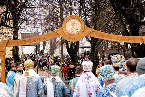 V Klokočove otvorili Jubilejnú bránu