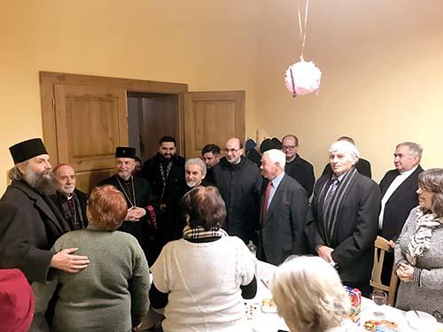 Novoročné stretnutie maďarských veriacich