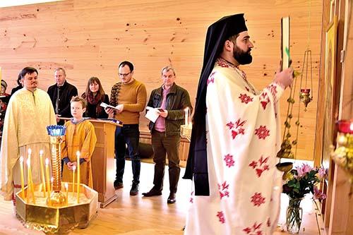 Návšteva gréckokatolíkov v Londýne