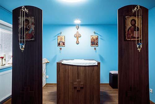 Posviacka kaplnky v Dome sv. Lazára