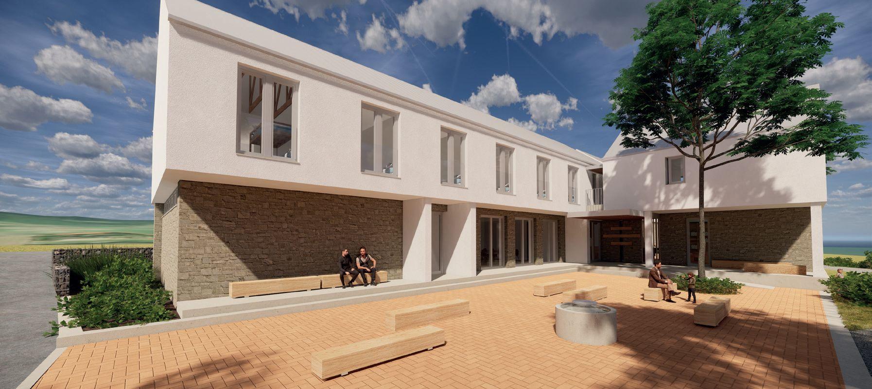 Predstavili projekt Pútnického centra v Klokočove