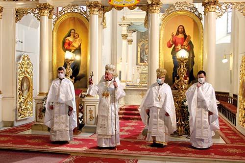 Sviatky Paschy v prešovskej katedrále