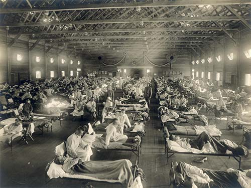 """Španielska chrípka ako """"duch strachu"""""""