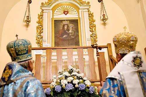 350. výročie slzenia ikony Bohorodičky v Klokočove