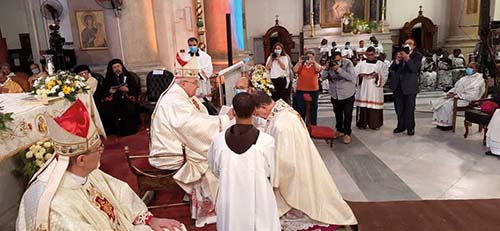 Kardinál Sandri navštívil Egypt