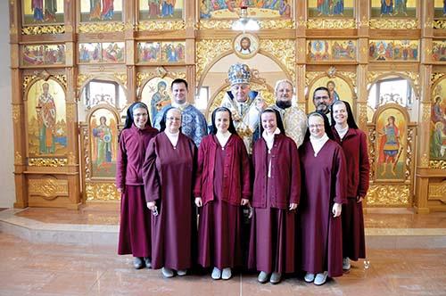 Arcibiskup Ján Babjak navštívil redemptoristky
