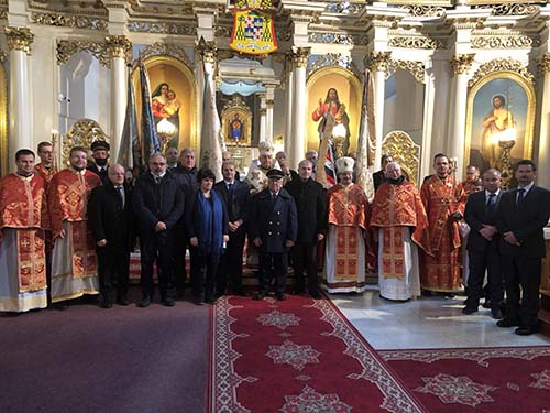 Liturgia s účasťou železničiarov
