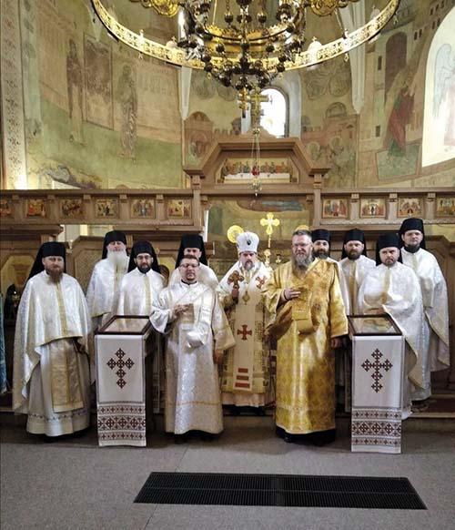 Rodák zo Slovenska prijal diakonát v Unive
