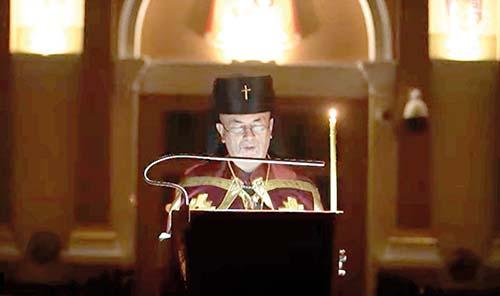 Do Veľkého pôstu vstúpili gréckokatolíci v modlitbe so svojimi biskupmi