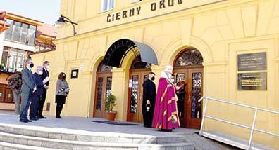 V Prešove odhlalili pamätnú tabuľu