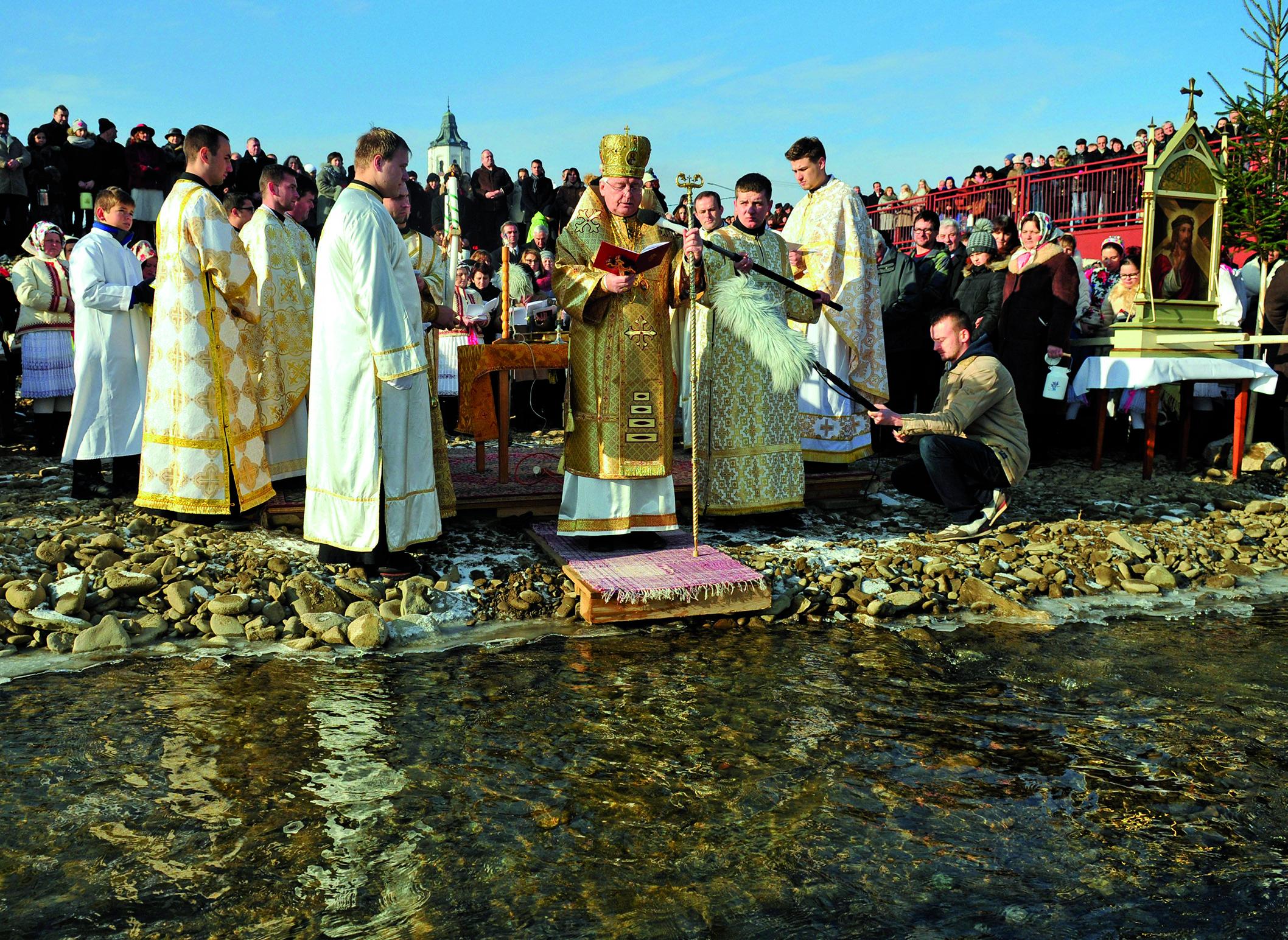 Bohozjavenie a veľké svätenie vody v Jakubanoch a v Prešove