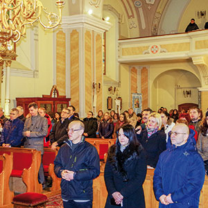 Učitelia Košickej eparchie oslávili svoj sviatok vTrebišove