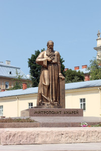 Monument_Andrey_Sheptytsky,_Lviv_namestie sv. Juraja_wikipedia.org
