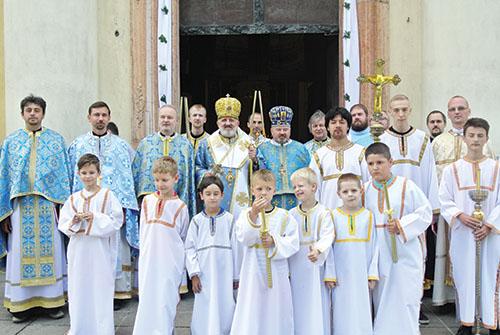 Deviata púť Bratislavskej eparchie do Šaštína