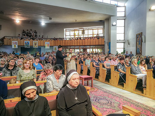 Gréckokatolíci Košickej eparchie sa zasvätili Kristovi i Márii na eparchiálnom odpuste v Sečovciach