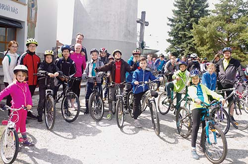 Cyklotúra po farnostiach Zemplína