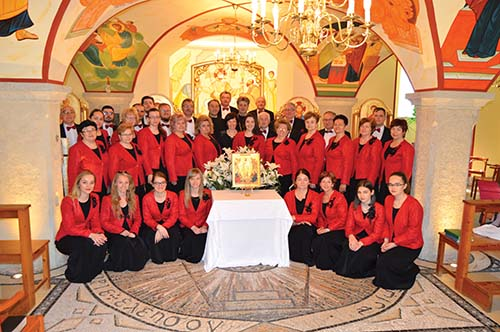 Zbor bl. P.P. Gojdiča v Česku a Rakúsku