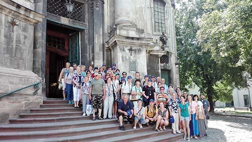 Veriaci z Breziny putovali po Ukrajine