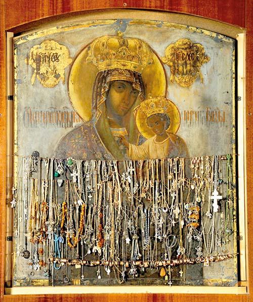 Getsemanská ikona Bohorodičky