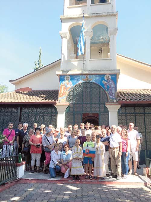 Púť farností Bratislavskej eparchie