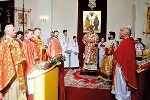 Eparchiálna slávnosť v Bratislave