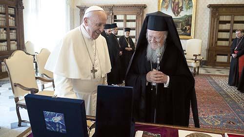Konštantínopolský patriarcha v Taliansku