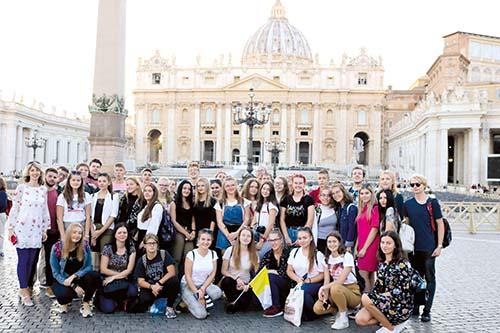 Humenskí gymnazisti spoznávali Taliansko