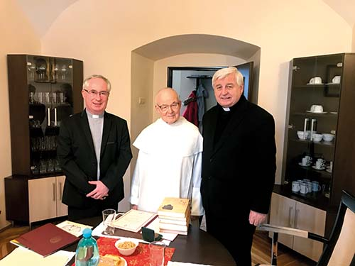 Vladyka Ján Babjak ocenil otca Leandra Pietrasa