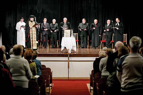 Ekumenická bohoslužba v Košiciach