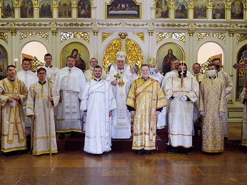Vladyka Ján Babjak udelil prvé diakonské svätenia