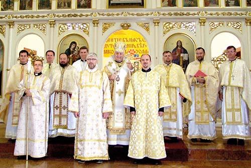 Vladyka Ján Babjak udelil nižšie svätenia