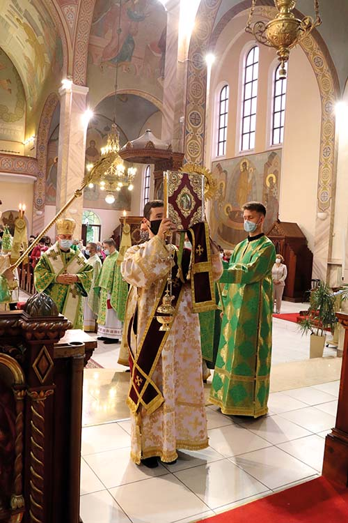 Slávnosť Košickej eparchie v bazilike minor