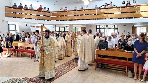 Cerkev na Terase oslávila 20 rokov