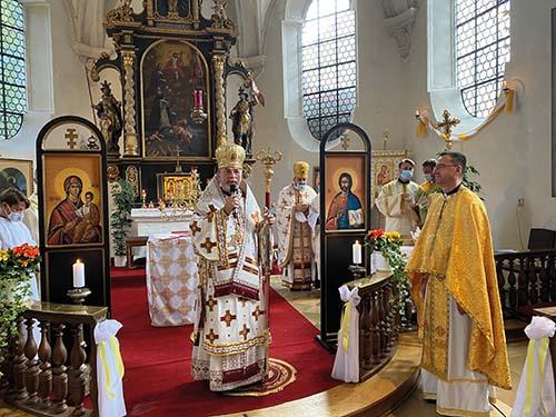 Vladyka Cyril Vasiľ navštívil Mníchov