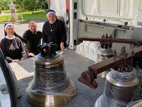 Gréckokatolíci v Trenčíne dostali zvony