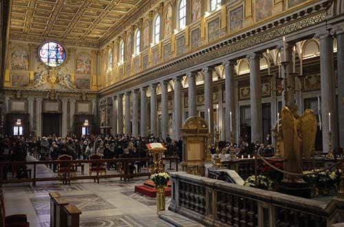 Púť k jasličkám v Santa Maria Maggiore