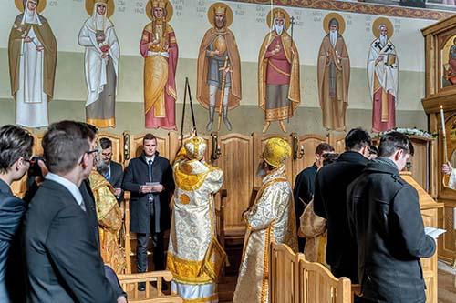 Posviacka obnovenej kaplnky seminára v Nyíregyháze