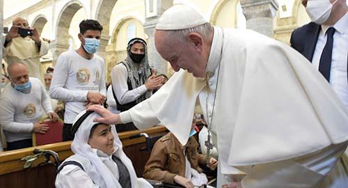 Pápež František navštívil Irak