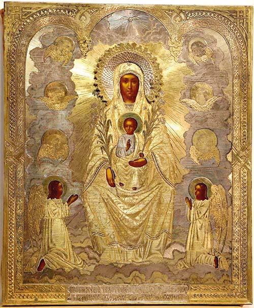 Divnohorská (Sicílska) ikona
