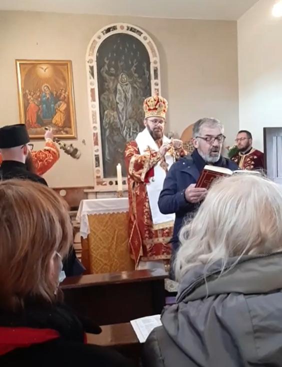 Historická liturgia v Zadare