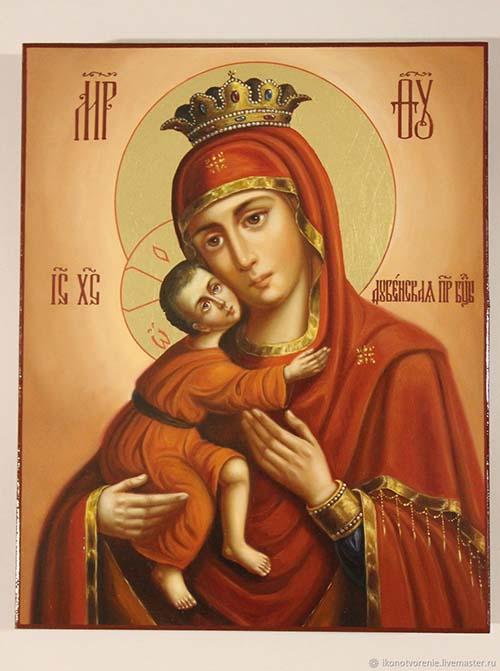 Dubenská (Krásnohorská) ikona Bohorodičky
