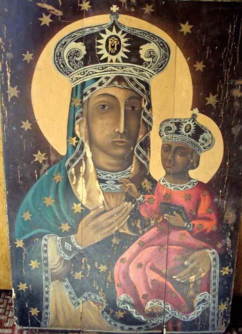 Dubovická ikona Bohorodičky